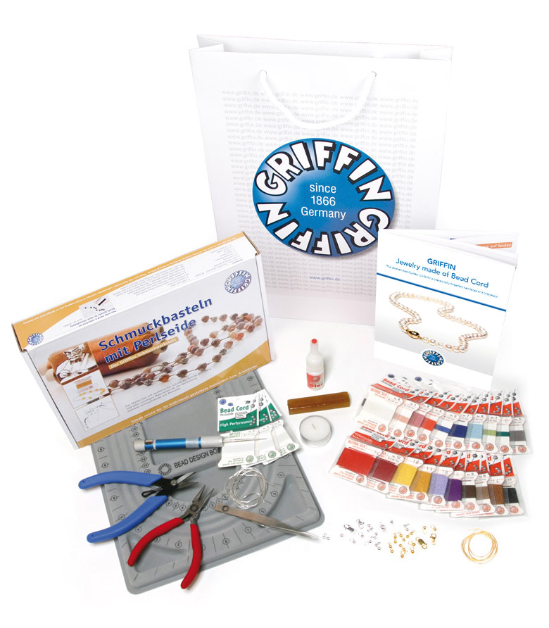 Material-Sets, Creating Jewelry with Bead Cord